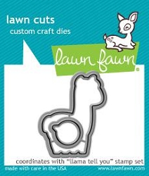 llama tell you - lawn cuts
