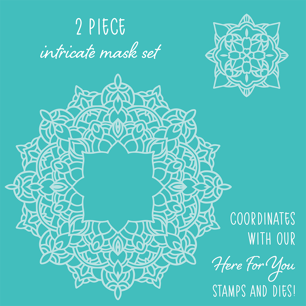 Mandala | Set of 2 Stencil Masks