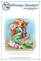 Mermaid Isabelle Rubber Cling Stamp