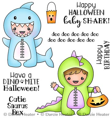 Shark Baby - CLEAR STAMP