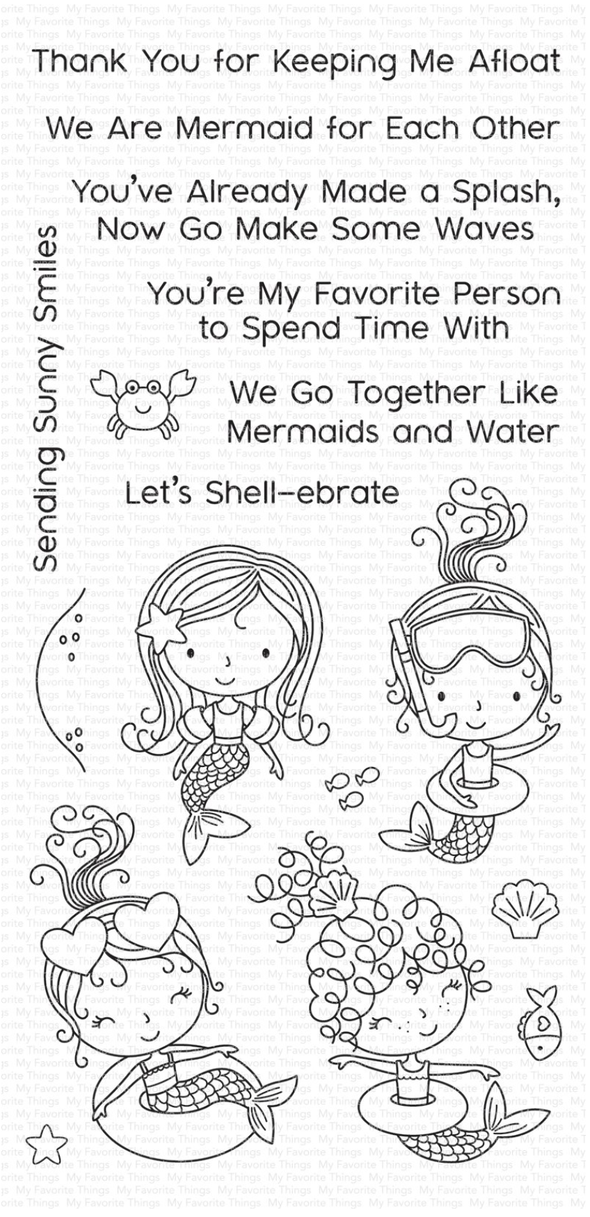 Mermaid for Each Other WS