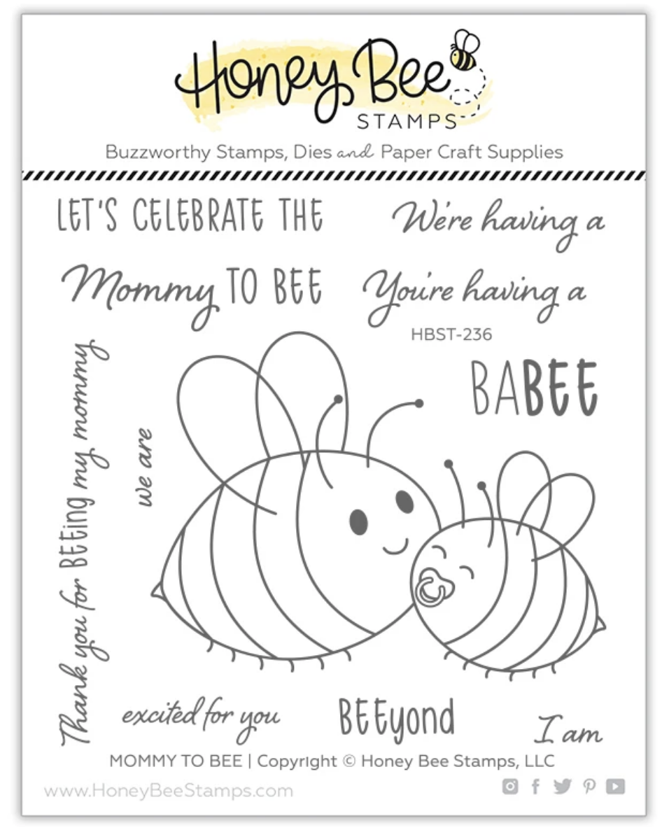 Mommy To Bee | 4x4 Stamp Set