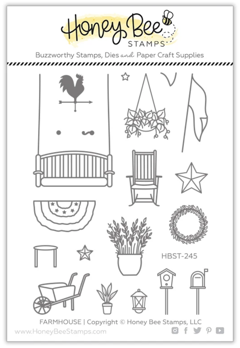 Farmhouse Add-On | 3x4 Stamp Set