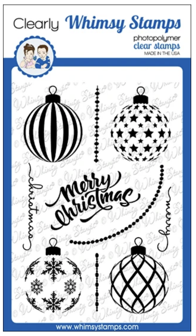 Elegant Ornaments Clear Stamps