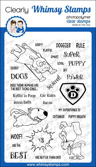 Super Dogs Clear Stamps