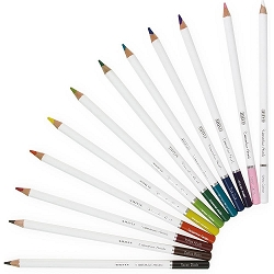Brilliantly Vibrant Nuvo Watercolor Pencils 12/Pkg