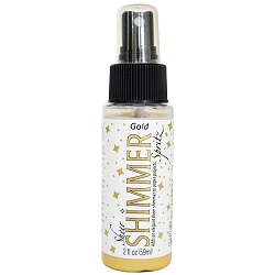 Gold Sheer Shimmer Spritz Spray 2oz