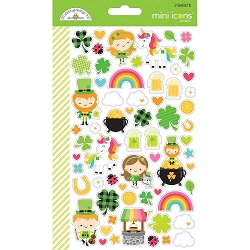 Lot's O'Luck Dooblebug Mini Cardstock Stickers