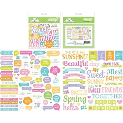 Simply Spring Dooblebug Chit Chat Die-Cuts