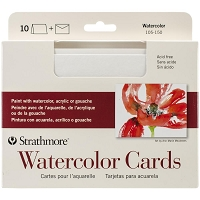 Watercolor Strathmore Cards & Envelopes 5