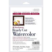 Strathmore Hot Press Watercolor Paper Pack 5