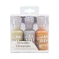Metallic Elements Nuvo Crystal Drops 3/Pkg