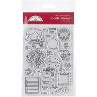 You're Sweet Doodlebug Clear Doodle Stamps