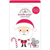 Sweet Santa, Christmas Magic 3D Pops Sticker