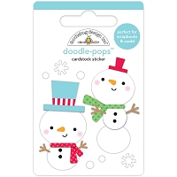 Snow Buddies, Christmas Magic 3D Pops Sticker