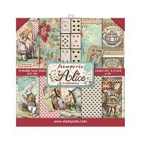 Alice Stamperia Double-Sided Paper Pad 8
