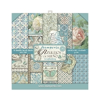 Azulejos, 10 Designs Stamperia Double-Sided Paper Pad 8
