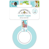 Wish You Were Here, I Heart Travel washi tape