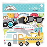 I Heart Travel, Doodlebug Odds & Ends Die-Cuts