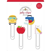 School Days Doodlebug  Jelly Clips 4/Pkg