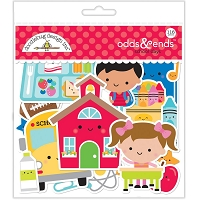 School Days, Doodlebug Odds & Ends Die-Cuts