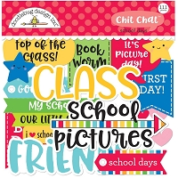 School Days, Doodlebug Odds & Ends Chit Chat Die-Cuts