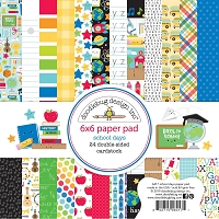 School Days, Doodlebug Double-Sided Paper Pad 6
