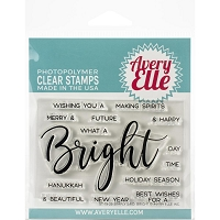 Simple Said: Bright Clear Stamp