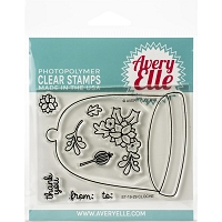 Cloche Clear Stamp