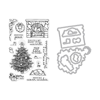 Home Scene Hero Arts Stamp & Die Combo
