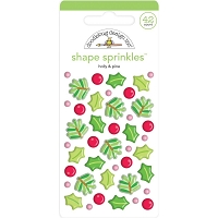 Holly & Pine, Christmas Magic Sprinkles Enamel Shapes