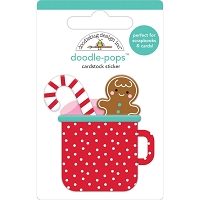 Hot Cocoa, Christmas Magic 3D Pops Sticker