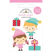 Santa's Helpers, Christmas Magic 3D Pops Sticker