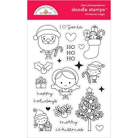 Christmas Magic Doodlebug Clear Doodle Stamps