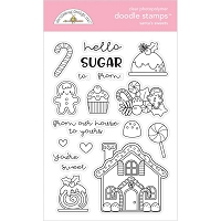 Santa's Sweets, Christmas Magic Doodlebug Clear Doodle Stamps