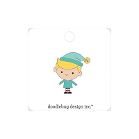Buddy, Christmas Magic Doodlebug Collectible Enamel Pin