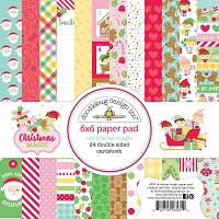 Christmas Magic Doodlebug Double-Sided Paper Pad 6