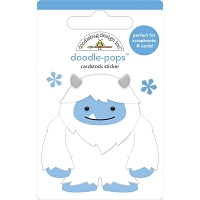 Harry, Winter Wonderland Doodle-Pops 3D Stickers