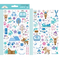 Winter Wonderland Icons mini cardstock stickers