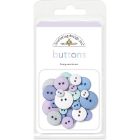 Frosty Doodlebug Buttons Assortment
