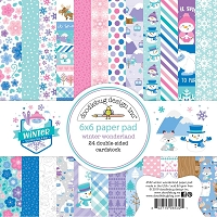 Winter Wonderland Doodlebug Double-Sided Paper Pad 6