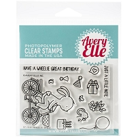 Wheelie Great Clear Stamp