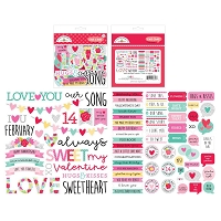 Love Notes, Doodlebug Odds & Ends Chit Chat Die-Cuts