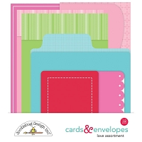 Love Notes, 6 Cards/6 Envelopes