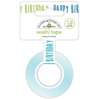Happy Birthday, Party Time Washi Tape