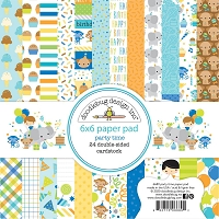 Party Time Doodlebug Double-Sided Paper Pad 6