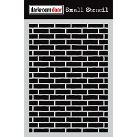 Brick Wall Darkroom Door Stencil 4.5