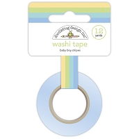 BOY STRIPE-DOODLEBUG WASHI TAPE