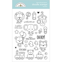 Toy Box, Special Delivery Doodlebug Clear Doodle Stamps
