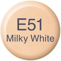 Milky White E51 Copic Refill